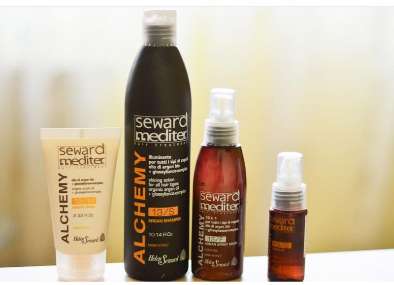 Аргановый шампунь для всех типов волос Alchemy Argan Shampoo 13/S, 300 мл.