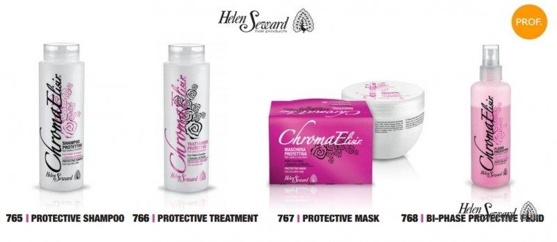 Защитный кондиционер для окрашенных волос Protective Treatment Chroma Elisir, 250 мл.