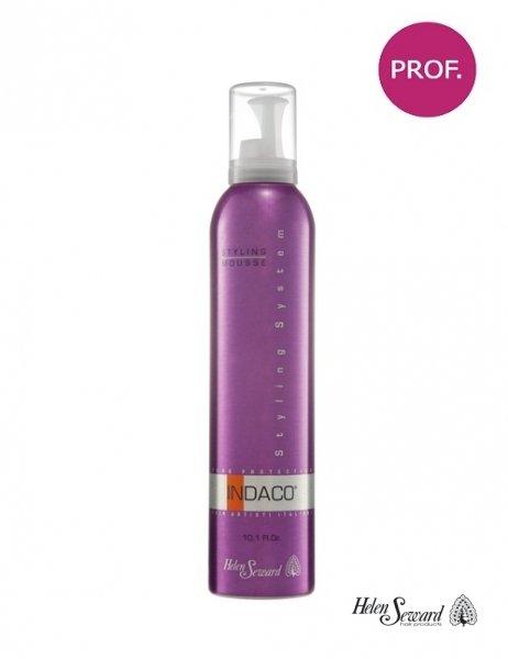 Мусс-стайлинг для укладки волос средней фиксации Indaco Styling Mousse, 300 мл.