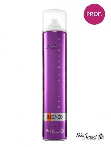 Лак для волос средней фиксации с УФ защитой Indaco Hair Spray, 500 мл.