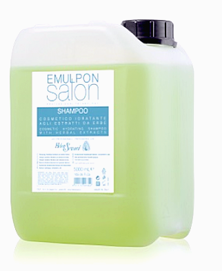 Увлажняющий шампунь с экстрактом трав - Emulpon Salon Hydrating Shampoo, 5000 мл.