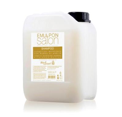 Питательный шампунь для сухих волос с пшеничными протеинами и маслом карите - Emulpon Nourishing Shampoo, 5000 мл.