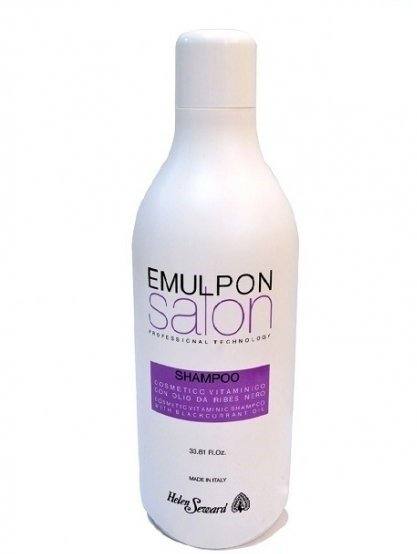 Шампунь после окрашивания с маслом черной смородины - Emulpon Salon Vitaminic Shampoo, 1000 мл.