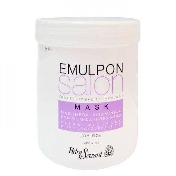 Маска для волос после химических процедур с экстрактами фруктов - Emulpon Salon Vitaminic Mask, 1000 мл.