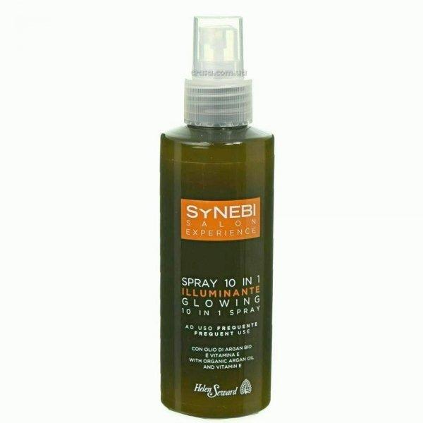 Спрей для блеска волос 10 в 1 Helen Seward Synebi Glowing spray, 150 мл.