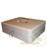 Металева коробка TS 0001 в*ш*г,(мм): 90*370*280