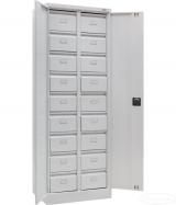 Шафа-картотека ШМС-18В в*ш*г,(мм): 1800*640*435