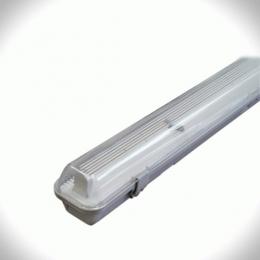 Светильники Electrum PRIZMA-218 PC/PS IP65 б/ст люминесцентный