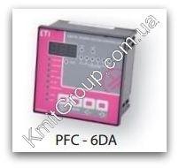 PFC-6DA - регулятор реактивной мощности, 6 ступеней, 96x96, (400V) ETI
