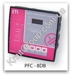 PFC-8DB - регулятор реактивной мощности, 8 ступеней, 144x144, (400V) ETI