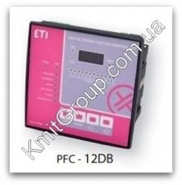 PFC-12DB - регулятор реактивной мощности, 12 ступеней, 144x144, (400V) ETI