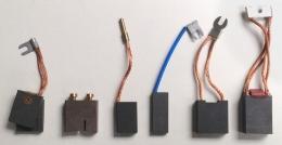 Щетка E14D (2x12,5)x38x68 электрографит Pantrac