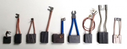 Щетка EG332 (2x8)x32x50 электрографит Morgan AMT