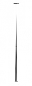 Мачта освещения MW 14/4/F400 металлическая оцинкованная