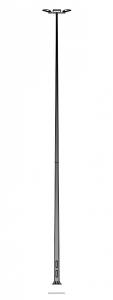 Мачта освещения MW 18/4/F400 металлическая оцинкованная