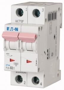 Автоматический выключатель 0,25А, кривая отключения C, 2 полюс, откл. способность 6 кА