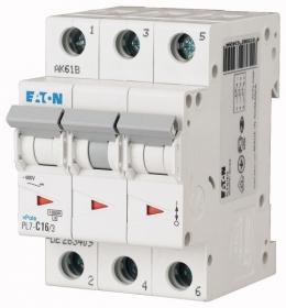 Автоматический выключатель 0,16А, кривая отключения С, 3 полюс, откл. способность 10 кА