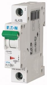 Автоматический выключатель 0,16А, кривая отключения С, 1 полюс, откл. способность 10 кА