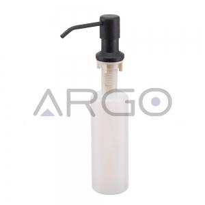 Дозатор для мыла металлик