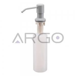 Дозатор для мыла светло-серый