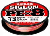 Шнур Sunline Siglon PEx8 150м #0.8 0.153мм 12Lb 6.0кг (multicolor)