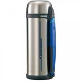 Термос ZOJIRUSHI SF-CС18XA 1.8 л (складная ручка+ремешок) ц: стальной