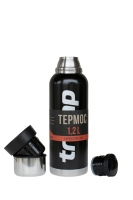 Термос Tramp Expedition Line 1.2 л TRC-028 черный