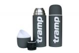 Термос Tramp Soft Touch 1.0 л серый