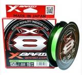 Шнур X-Braid Braid Cord X8 150m #1.0/0.165mm 20lb/9.1kg