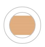 Тональний крем для обличчя «Бездоганний тон»Light Nude/ Натуральний 1376351